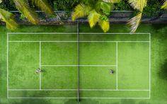 Tennis, Matamanoa Fiji Islands.