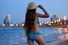 Beach... & nothing else matters - ✰ Justine ωith Ruth ✰ Our love to live - Uroda, Moda i Lifestyle. Blog z Trójmiasta #hat Hat from Szaleo.pl