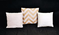 DIY: No-Sew Pillow Covers - The Interior Project