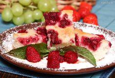 Ovocný koláč z kyslého mlieka