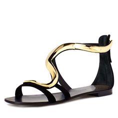 Giuseppe Zanotti Shoes   Giuseppe Zanotti Design Suede Sandals - We're Obsessed - Fashion ...