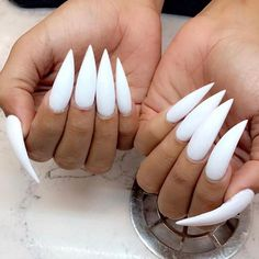 Most Sexy and Trendy Prom and Wedding Acrylic Nails and Matte Nails for this Season - Amately Wedding Acrylic Nails, Long Acrylic Nails, Long Nails, Gorgeous Nails, Pretty Nails, Claw Nails, Sexy Nails, Toe Nail Designs, Matte Nails