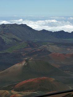 """""""Lava above the clouds"""", Haleakala National Park, Maui, Hawaii"""