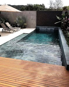 The post 21 Best Swimming Pool Designs [Beautiful Cool and Modern] appeared first on Terrasse ideen. 21 Best Swimming Pool Designs [Beautiful Cool and Modern] Swimming pool design ideas Backyard Pool Designs, Small Backyard Pools, Small Pools, Patio Design, Fence Design, Backyard Ideas, Garden Design, Nice Pools, Terrace Design