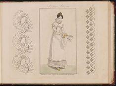 Modes et dessins de broderie : Madame d'A... 2d...
