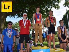 Luke Rosser T1D Athlete & Advocate 3rd fastest 14 year old in the the state of Florida, taking 3rd in the USAT Regionals FL Championship Triathlon Race!