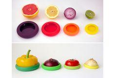 Food Huggers- preserve  half cut fruits and vegetables.