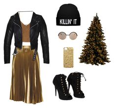 """Happy New Year 1"" by amina-khayrulina on Polyvore featuring A.L.C., Goroke, Giuseppe Zanotti and Marc by Marc Jacobs"