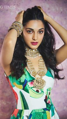 Actress Kiara Advani Femina Wedding Photoshoot 2019 will teach you a thing or two about acing ethnic styles; Bollywood Actress Hot Photos, Indian Bollywood Actress, Bollywood Girls, Beautiful Bollywood Actress, Indian Actresses, Bollywood Saree, Bollywood Fashion, Bollywood Heroine, Indian Celebrities