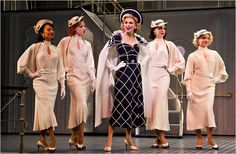 Anything Goes, with Sutton Foster, center, a Roundabout Theater Company revival at the Stephen Sondheim Theater