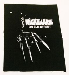 NIGHTMARE on ELM STREET freddy patch punk by LordOfTheLeftHand