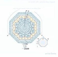 http://luncinettodicristina.blogspot.com: Un delizioso sacchetto dalla forma ottagonale