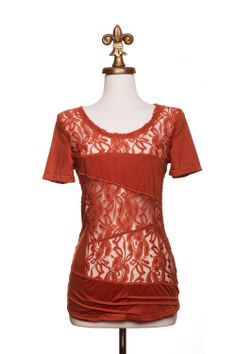 I adore this top! Dressing Your Truth - Type 3 It Rust Be Love Top
