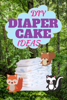 Best diaper cake ideas you can DIY. Learn how to make a diaper cake. How many diapers you need. Lots of ideas for girl or boy diaper cake. Rectangle and round diaper cakes. Budget Baby Shower, Baby Shower Prizes, Cheap Baby Shower, Baby Girl Shower Themes, Simple Baby Shower, Baby Shower Decorations For Boys, Baby Shower Centerpieces, Baby Shower Cakes, Baby Boy Shower