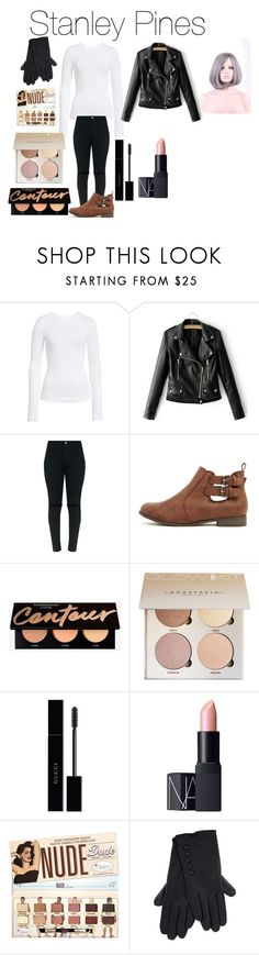 """""""Stanley Pines from Disney's Gravity Falls"""" by tori-camilleri on Polyvore featuring BP., Gucci and NARS Cosmetics"""