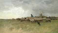 Anton Mauve - Herder met kudde