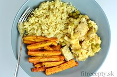 Recepty s kuracím mäsom Archives - FitRecepty Home Recipes, Cooking Recipes, No Cook Meals, Granola, Risotto, Good Food, Bread, Tofu, Chicken