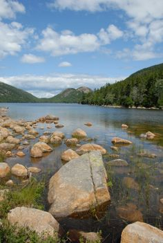 live in Maine for a summer | image of Jordan Pond