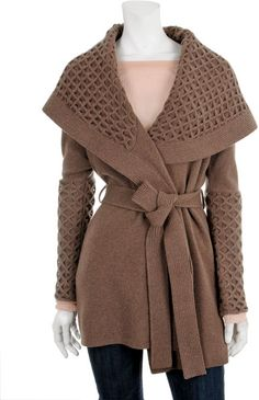 Temperley London Brown Honeycomb Jacket I neeeeeed this. The price is utterly ridiculous, but it's so gorgeous.
