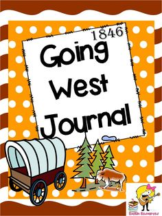 So cool.  Students get to pretend they are in 1846 and traveling west. You decide to keep a journal of your adventure!  TpT resource