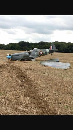 I note that it's a Spitfire trainer. I think we can safely assume the student pilot failed...