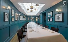 Private Dining Room, The White Onion. headbox.com