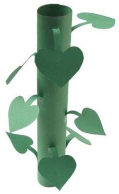 Fairy Tale Week --Jack and the Beanstalk: Beanstalk Craft