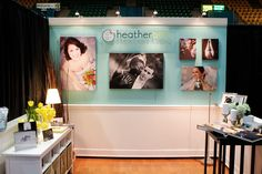 bridal show booth ideas | lighting is everything | Wedding expo booth ideas