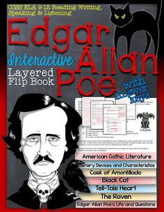 Edgar Allan Poe: Interactive Layered Flip Book ($)