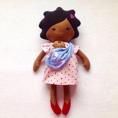 Baby Wearing Doll - Pregnant Doll - Mummy Tummy© Doll by FredtheNeedledolls on Etsy