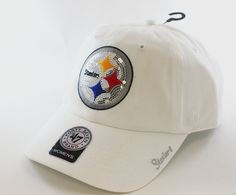 NFL Pittsburgh Steelers Women's Sparkle Team Color, White