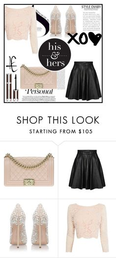 """""""Untitled #1"""" by ajisa-ikanovic ❤ liked on Polyvore featuring Chanel, Jeremy Scott, Casadei, Coast and Givenchy"""