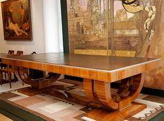 art deco interiors | Stilrichtung Art Deco. Jugendstil - - indoor-architecture.de interior ... dinning/ pool table