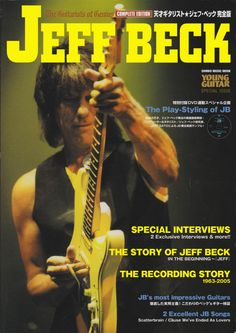 Young Guitar Young Guitar, Jeff Beck, Interview, Magazine, Music, Musica, Musik, Magazines, Muziek