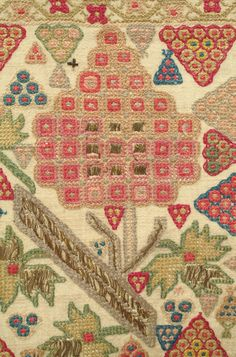 Embroidered Sash - Ottoman Empire, 19th c., silk and metallic thread embroidery on linen, very good condition, Asia - Middle East.