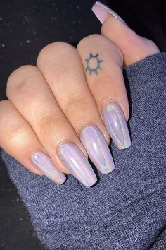 20 Chrome Nails Trends 2018