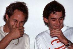 Berger e Senna
