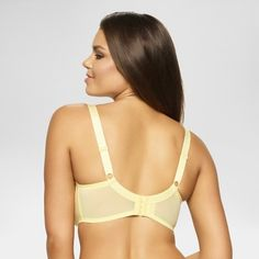 5a3418a4acc Paramour Women s Dahlia Geo Lace Unlined Bra - Pale Yellow 42H