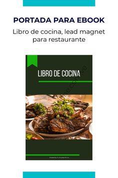 Portada para libro digital, libro de cocina, ebook o lead magnet para restaurante Lead Magnet, Beef, Food, Meat, Essen, Meals, Yemek, Eten, Steak