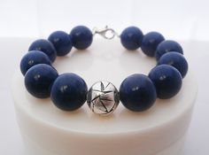 Egyptian Lapis Lazuli and Sterling Silver by KartiniStudio on Etsy