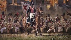 Sitios de Zaragoza - 1809 (1er Rto. de Infantería de Linea de Voluntarios de Madrid) Spanish War, Army History, Army Uniform, Napoleonic Wars, Military Art, Empire, The Past, Madrid, Painting