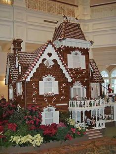 Victorian Gingerbread House - Grand Floridian, Disney World