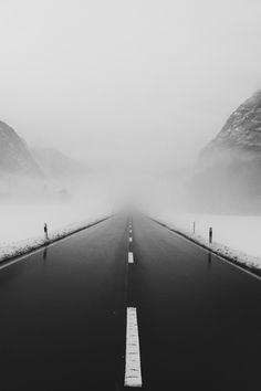 Nie zuende gehende Straße