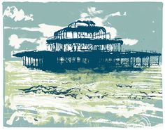 West Pier, Brighton (small) by Andy Lovell