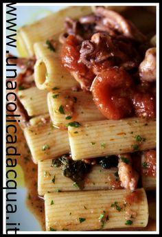 Rigatone Cocco in guazzetto di moscardini