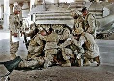 American soldiers.