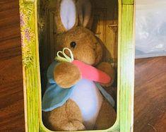Beatrix Potter Play Shop with Stuffed Peter Rabbit