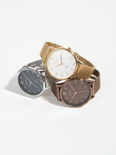Relógio Gold Tray - PRATEADO - 29.99€