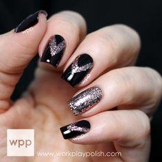 23 Metallic Nail Polish Designs We Want to Wear This Holiday Season | Divine Caroline