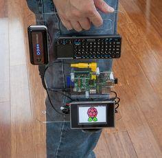 A portable Raspberry Pi workstation
